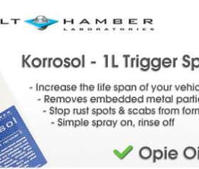 New product to Opie Oils, Bilt Hamber Korrosol embedded metal remover