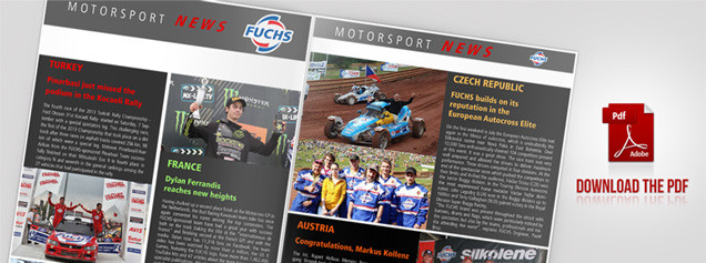 Download the Fuchs Fuchs Motorsport News International Edition PDF