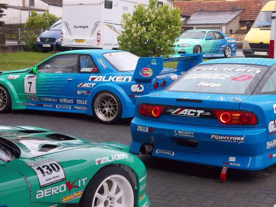 Opie Oils Sponsored, Team Falken UK - Street Legal Race / Drift Cars