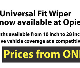 Fister Universal Wiper Blades - Prices from ONLY £1.80