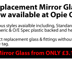 Replacement Mirror Glass from £3.16