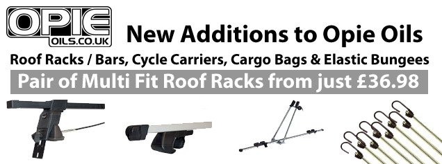 Roof Racks / Bars, Cycle Carriers, Cargo Bags & Elastic Bungees now available
