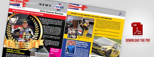 Fuchs Motorsport News