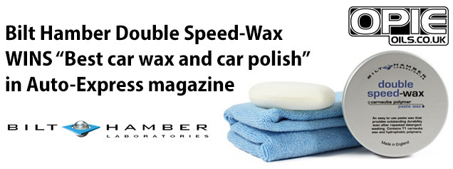 Bilt Hamber Double Speed-Wax outshines it's competition