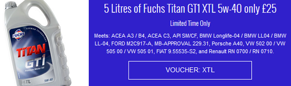 Fuchs Titan GT1 XTL 5w-40