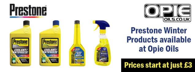 Prestone Winter Products