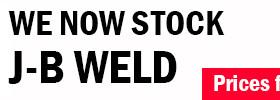 Opie Oils now stocking JB-WELD