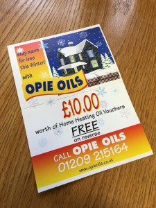 Stay warm for less this Winter at Opie Oils
